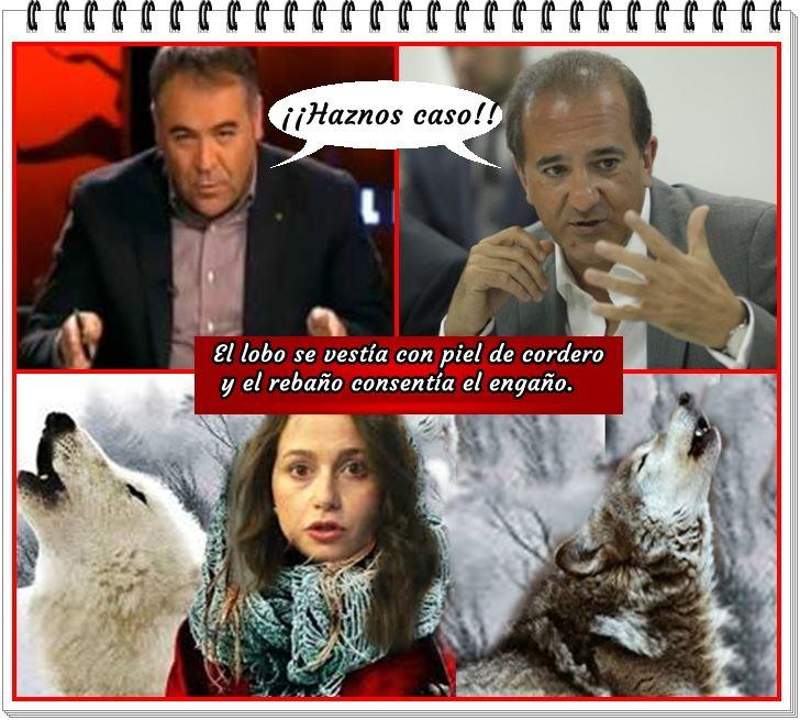 Haznos caso Inés que somos el lobo con piel de cordero