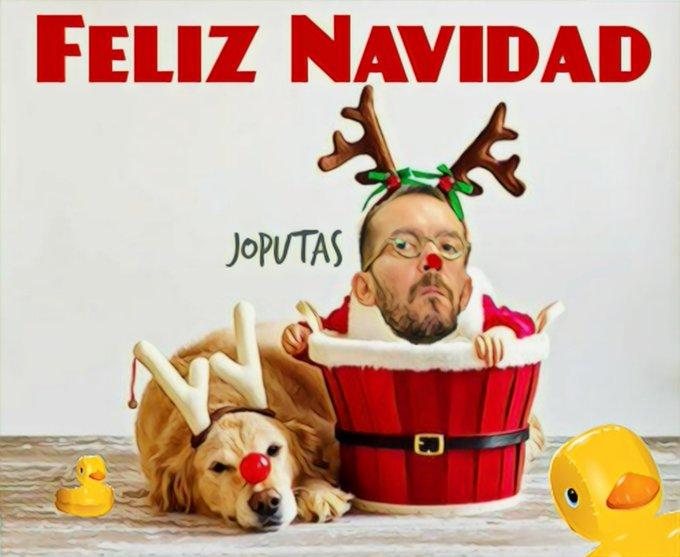 Sesión fotográfica en Podemos para la felicitación navideña. Por Linda Galmor