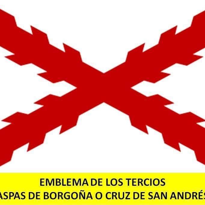 Aspa de Borgoña o Cruz de San Andrés