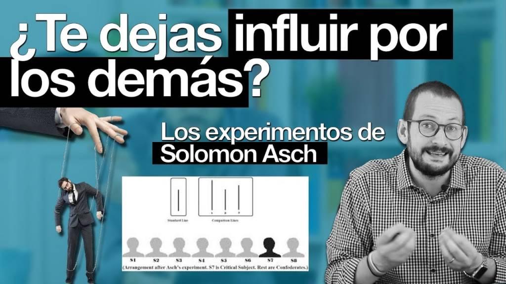 El experimento de Solomon Asch sobre la conformidad social