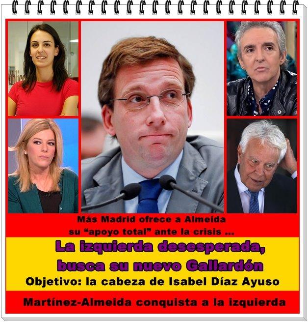 La izquierda desesperada busca en Madrid su nuevo Gallardón