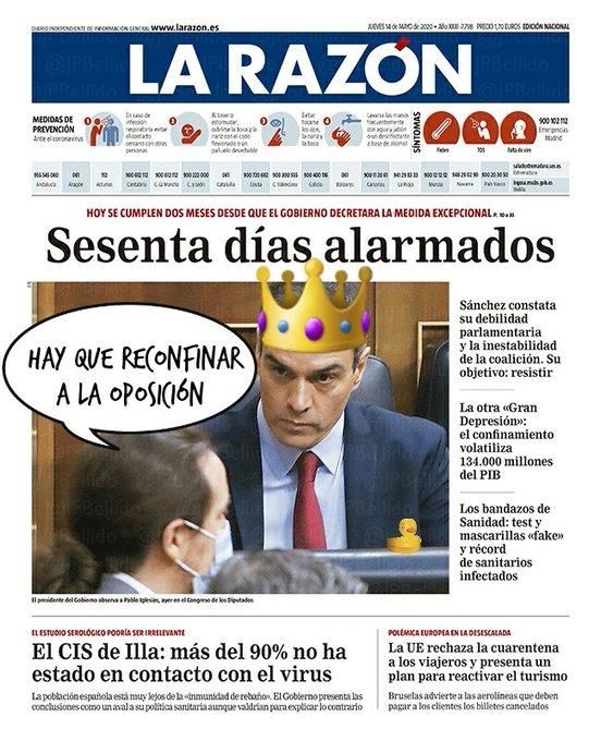El Gobierno de Sánchez de progreso y súper democrático detesta las sesiones de control del Congreso. Cualquier día las prohíben. Por Linda Galmor
