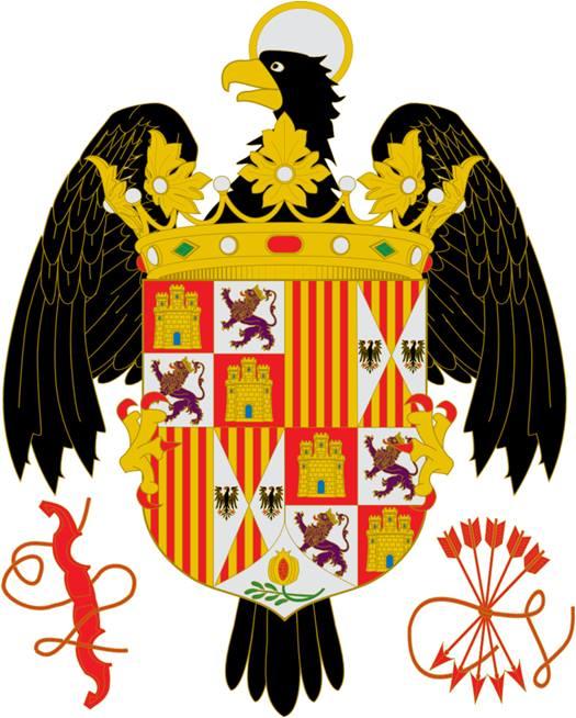 Escudo de los Reyes Católicos. 1492-1506