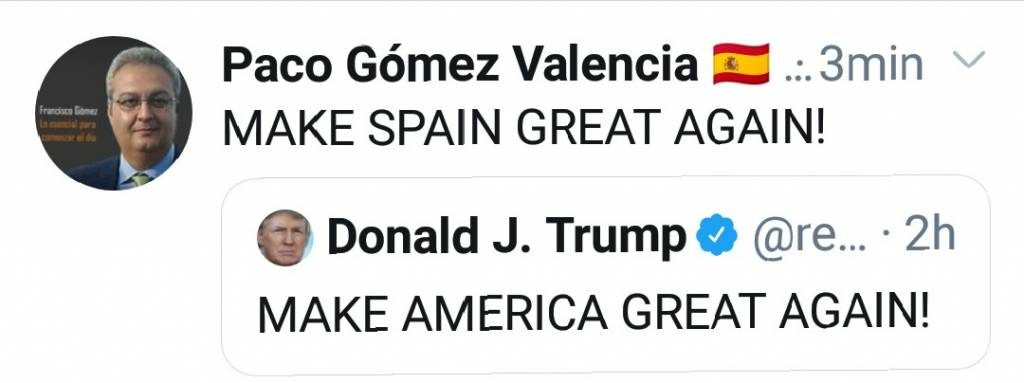 MAKE SPAIN GREAT AGAIN!