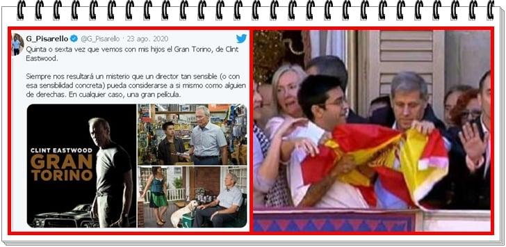 Este es el paño instalado en el gobierno de España