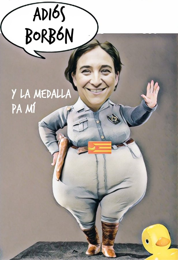 Inmaculada ha quitado la medalla de Barcelona al Rey Emérito. Por Linda Galmor