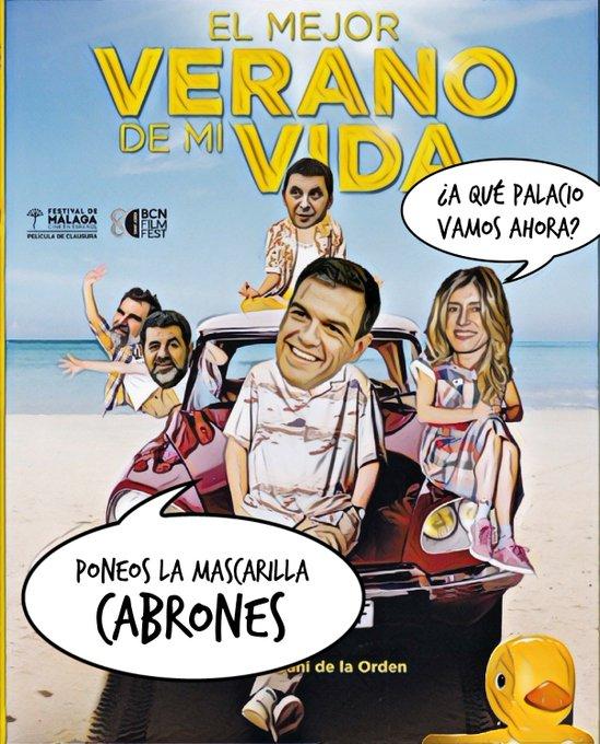 La mayoría de los españoles se quedan sin vacaciones por la pandemia y la crisis económica. Por Linda Galmor