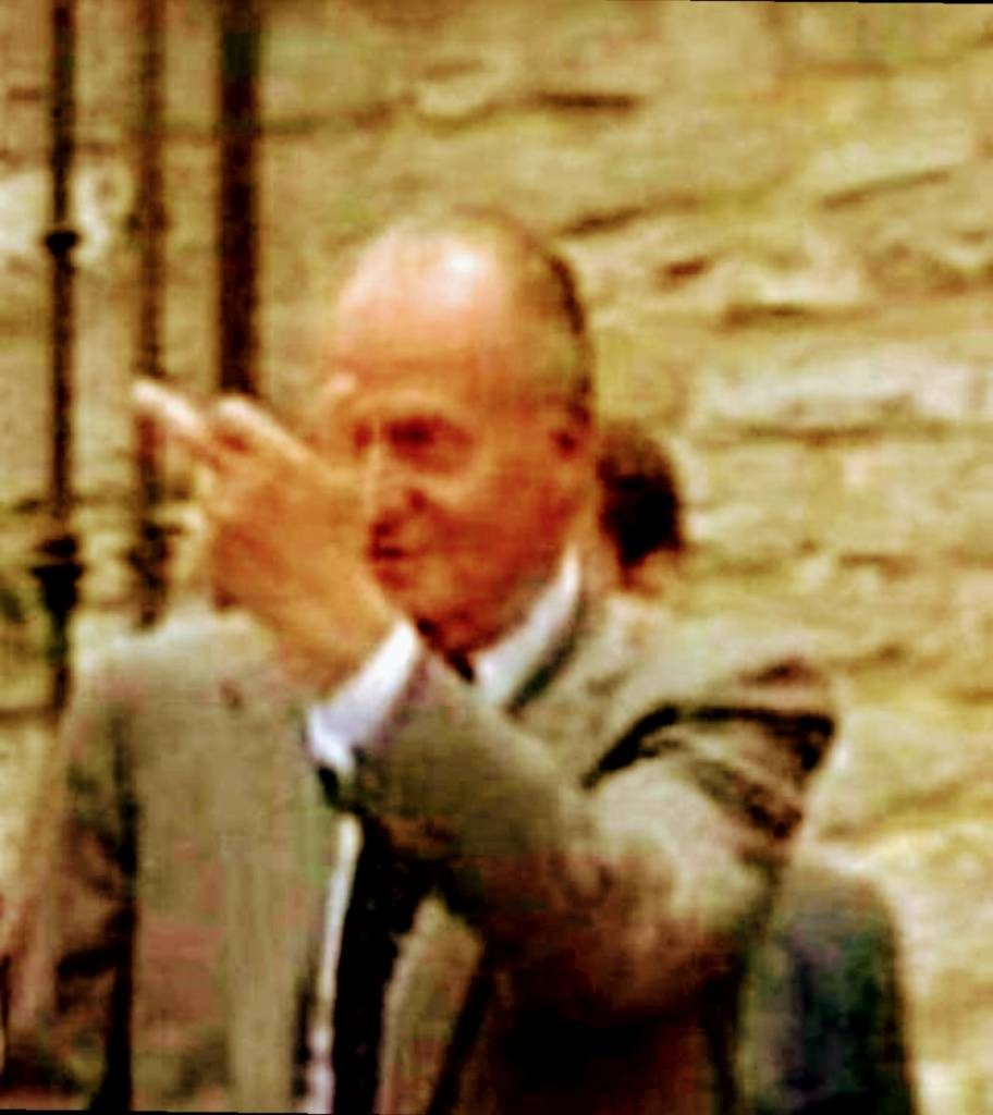 La peineta de Don Juan Carlos