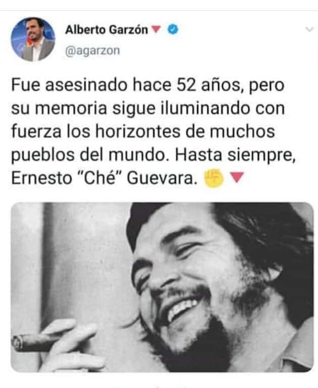 Pablo Iglesias y el Ché