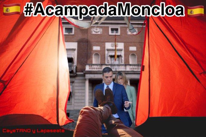 La Sociedad Civil ante la situación insostenible que sufrimos en España, ni más ni menos. Ilustración de Tano
