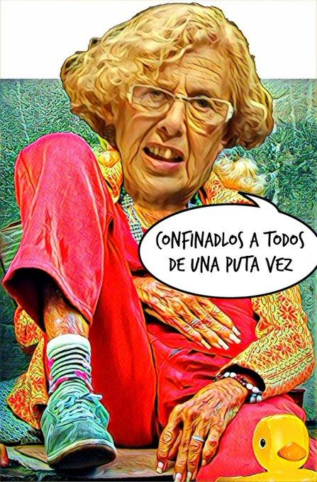 Los del consenso, hasta que les llevas la contraria, imponen el #confinamientomadrid. Por Linda Galmor