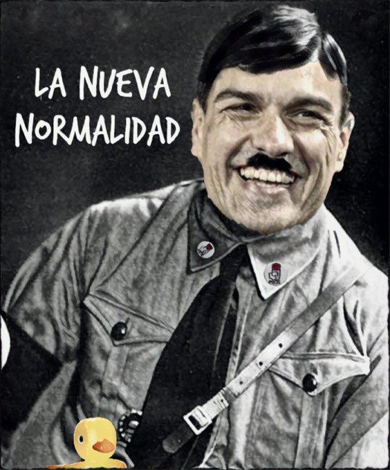 La nueva normalidad de #SanchezDictador. Por Linda Galmor