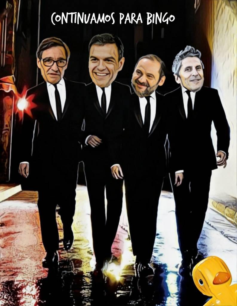 Solo la unión de la oposición dará réditos electorales en esta España que se está venezoleando. Ilustración de Linda Galmor