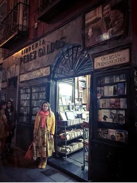 Zoé Valdés en una librería madrileña. Foto Regis Iglesias Ramírez