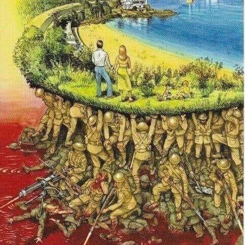 La Libertad se gana luchando por ella, día a día.