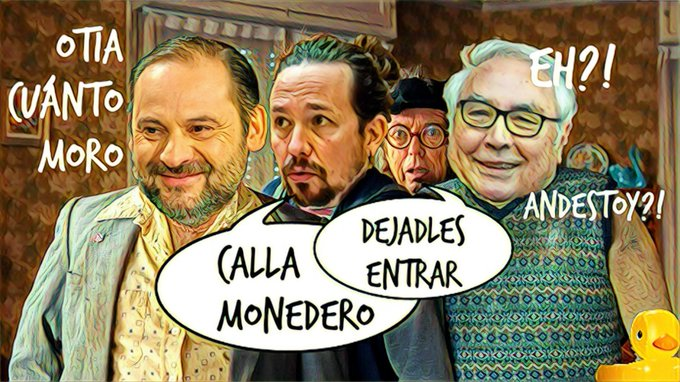 El gobierno viaja a Marruecos para regalar dinero y el resto a Canarias para hacer que hacen algo. Por Linda Galmor