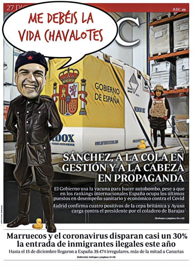 Las vacunas y la propaganda en Portada del #FelizDomingo. Linda Galmor