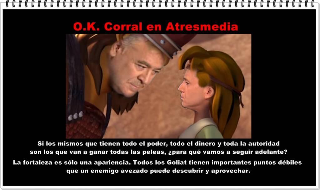 OK Corral en Atresmedia: David Vallés contra Goliat Ferreras