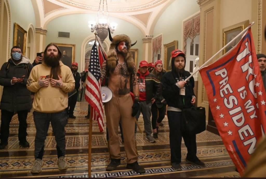 Todos los integrantes de la foto han estado en actos del partido demócrata.