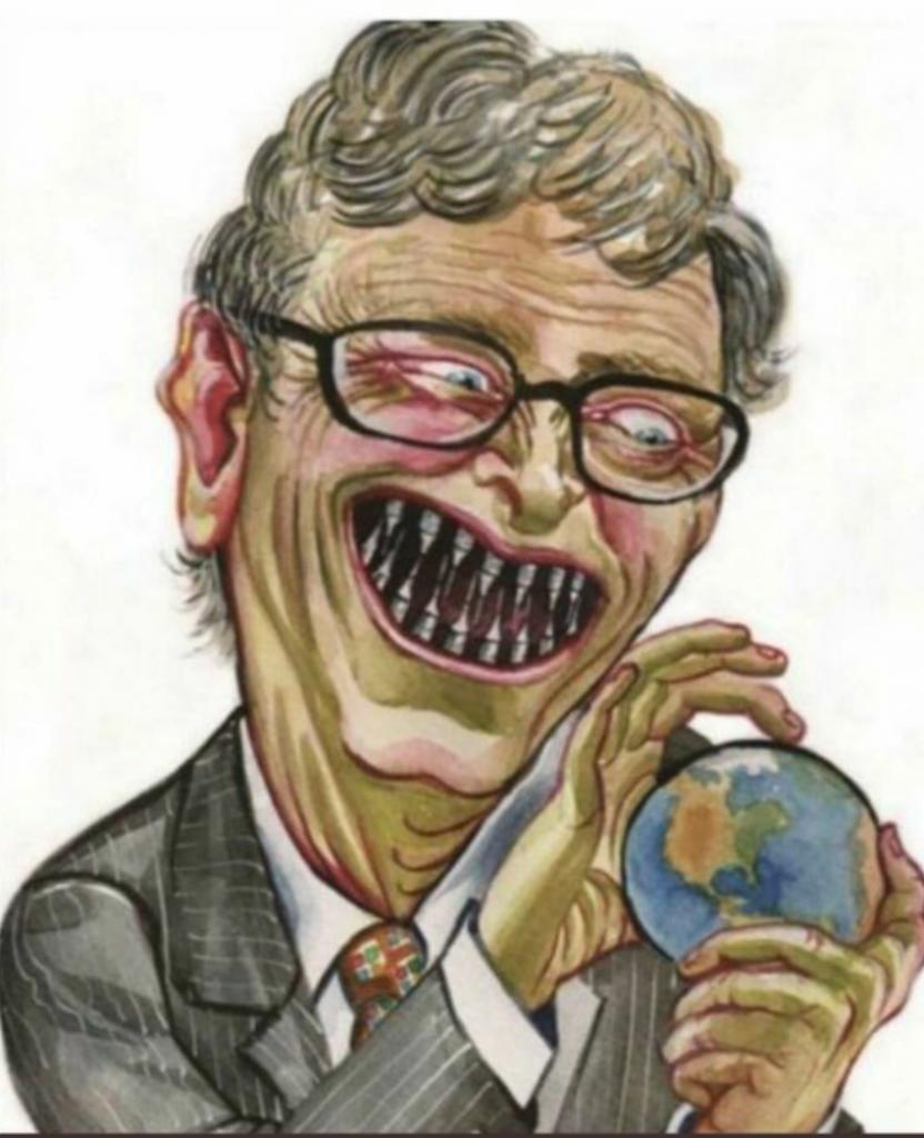 Bill Gates uno de los padres protectores de la nueva humanidad
