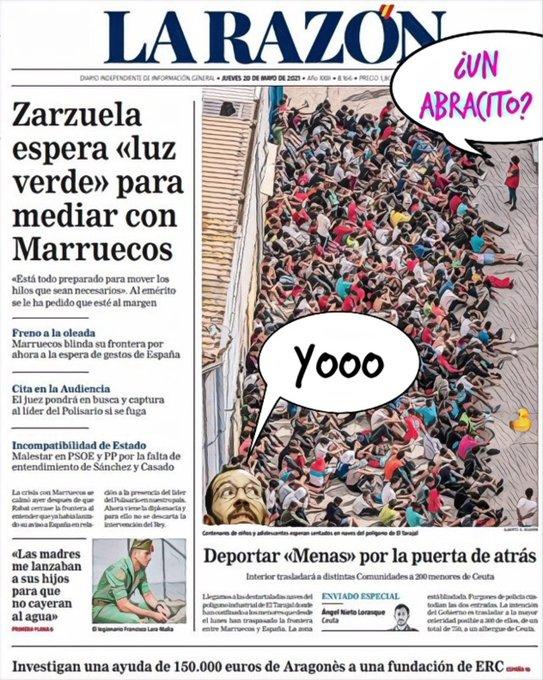 España, en bancarrota y con 6M de parados, hace hueco a los menores que llegan. Por Linda Galmor