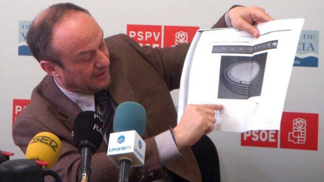 La Prensa Libre se olvida del socialista Rafael Rubio, en prisión provisional por corrupción.
