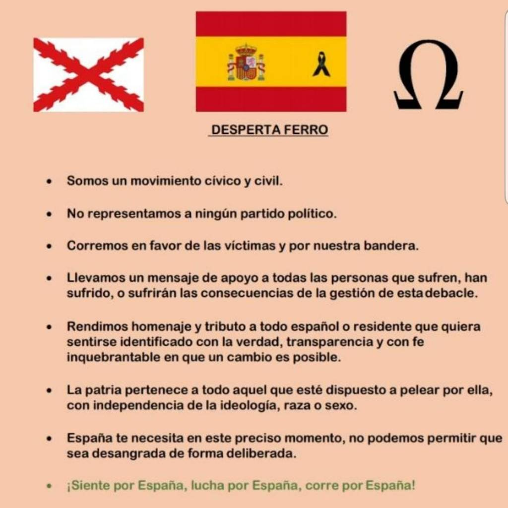 Resiste España fundamentos