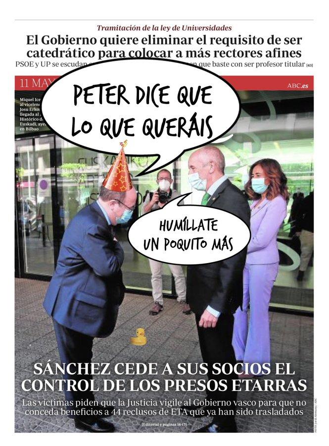 Sánchez continúa con su plan para desmantelar España. Por Linda Galmor