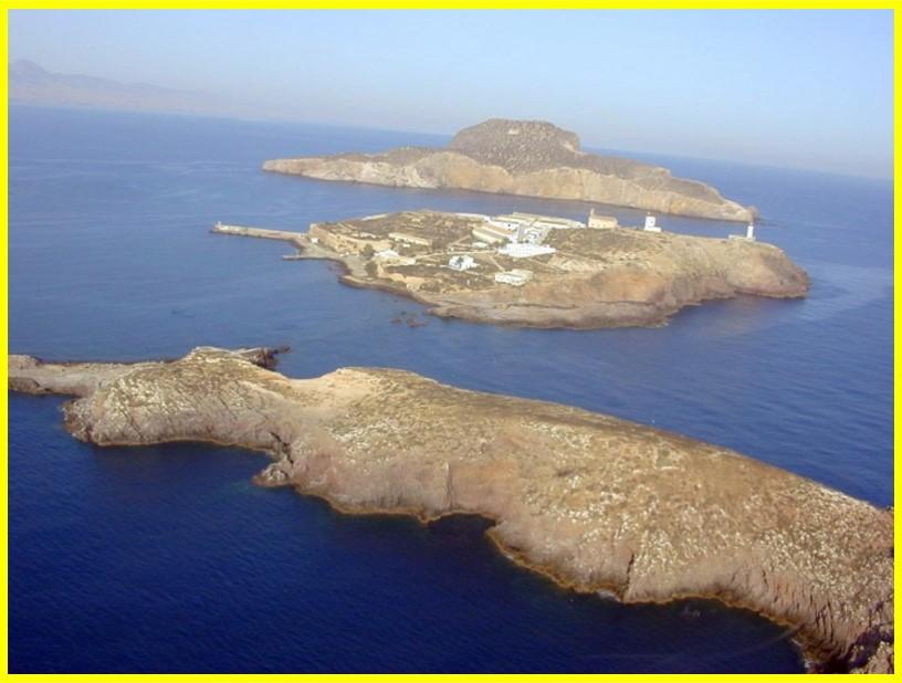 En la isla central el asentamiento
