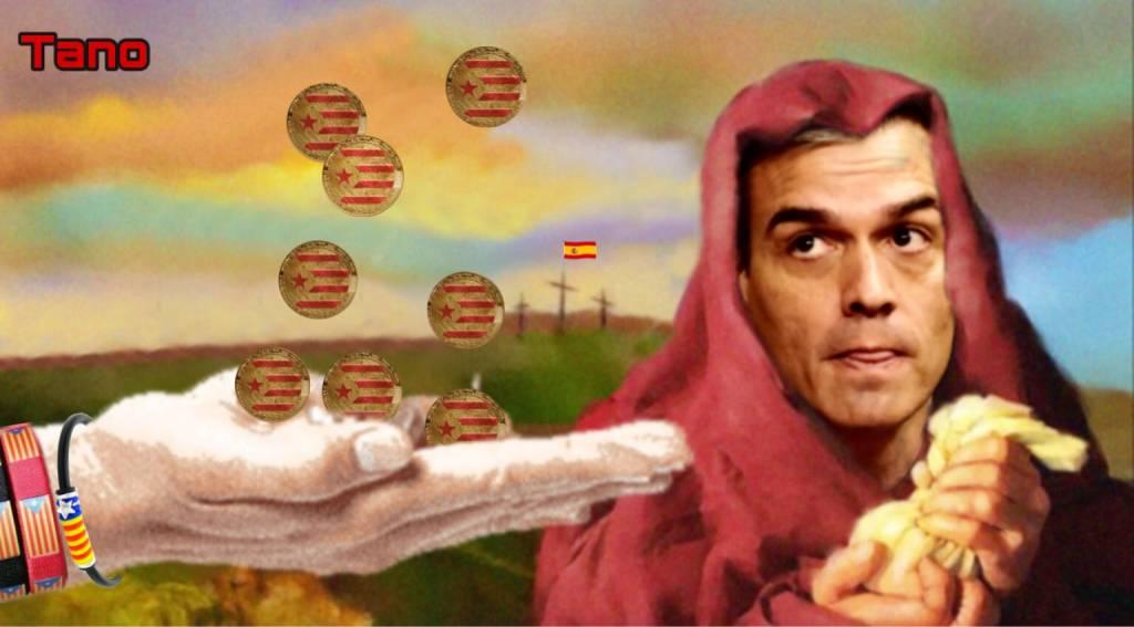 Zapatero y Sánchez son los enviados por el maligno. Ilustración de Tano