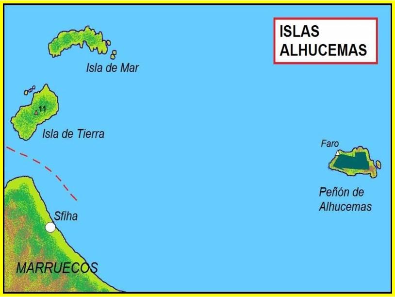 islas Alhucemas