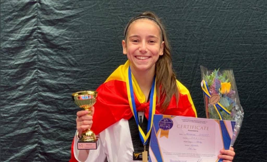 TVE y los Juegos Olímpicos: Lo que mal empieza... En la imagen Adriana Cerezo que hoy compite por el oro
