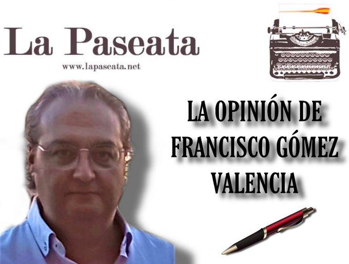 Comunismo o Chuletón. La opinión de Francisco Gómez Valencia. lustración de Tano