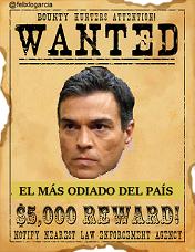 El más odiado del país. Tuit de Félix López García