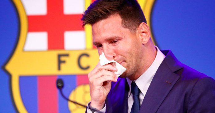El pebetero olímpico se apagaba mientras Messi sorbía sus lágrimas.