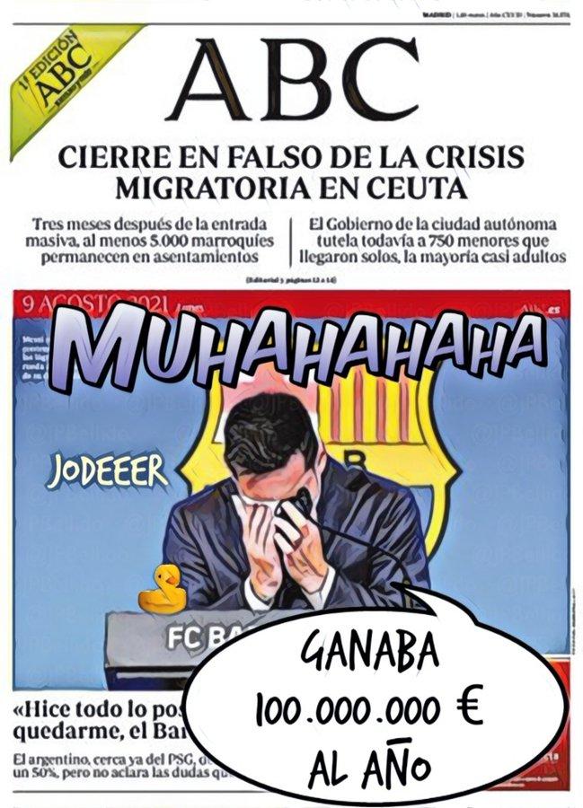 En Cataluña se jodió el circo y el pan escasea. Por Linda Galmor