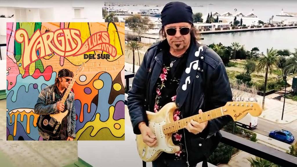 Javier Vargas uno de los mejores guitarristas de rock que ha dado nuestro país.